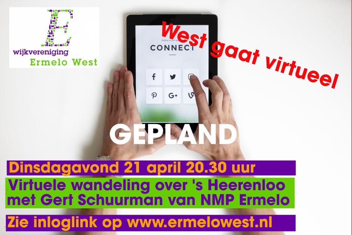 Neem deel aan de virtuele wandeling op 's Heerenloo